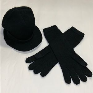 Accessories - Women's Knit Cap and Gloves